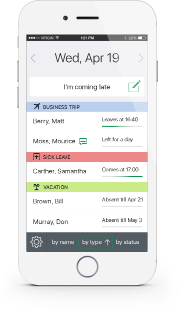 mobile attendance app for employees actiplans